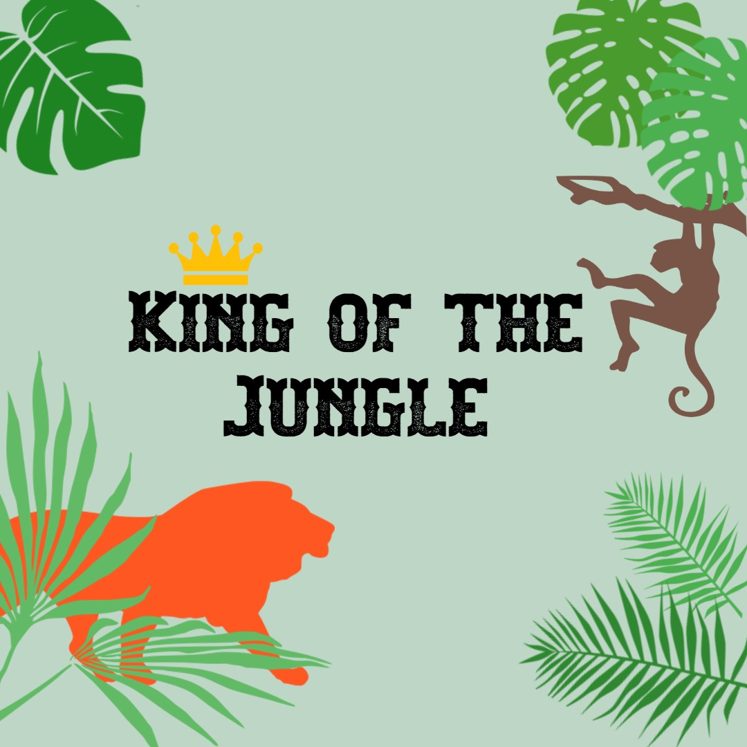 Tiny Talk Time: King of the Jungle banner image
