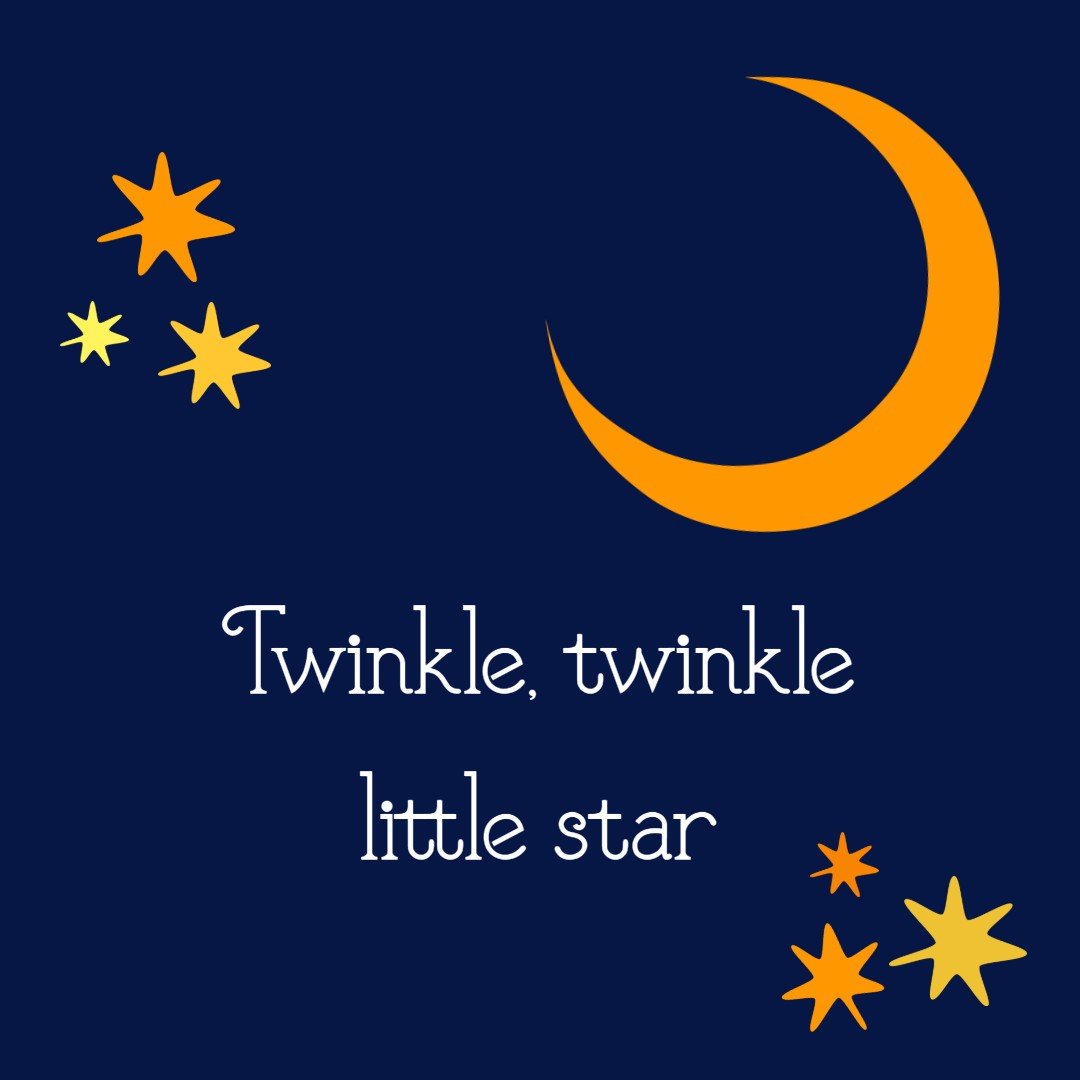 Tiny Talk Time: Twinkle, Twinkle, Little Star banner image