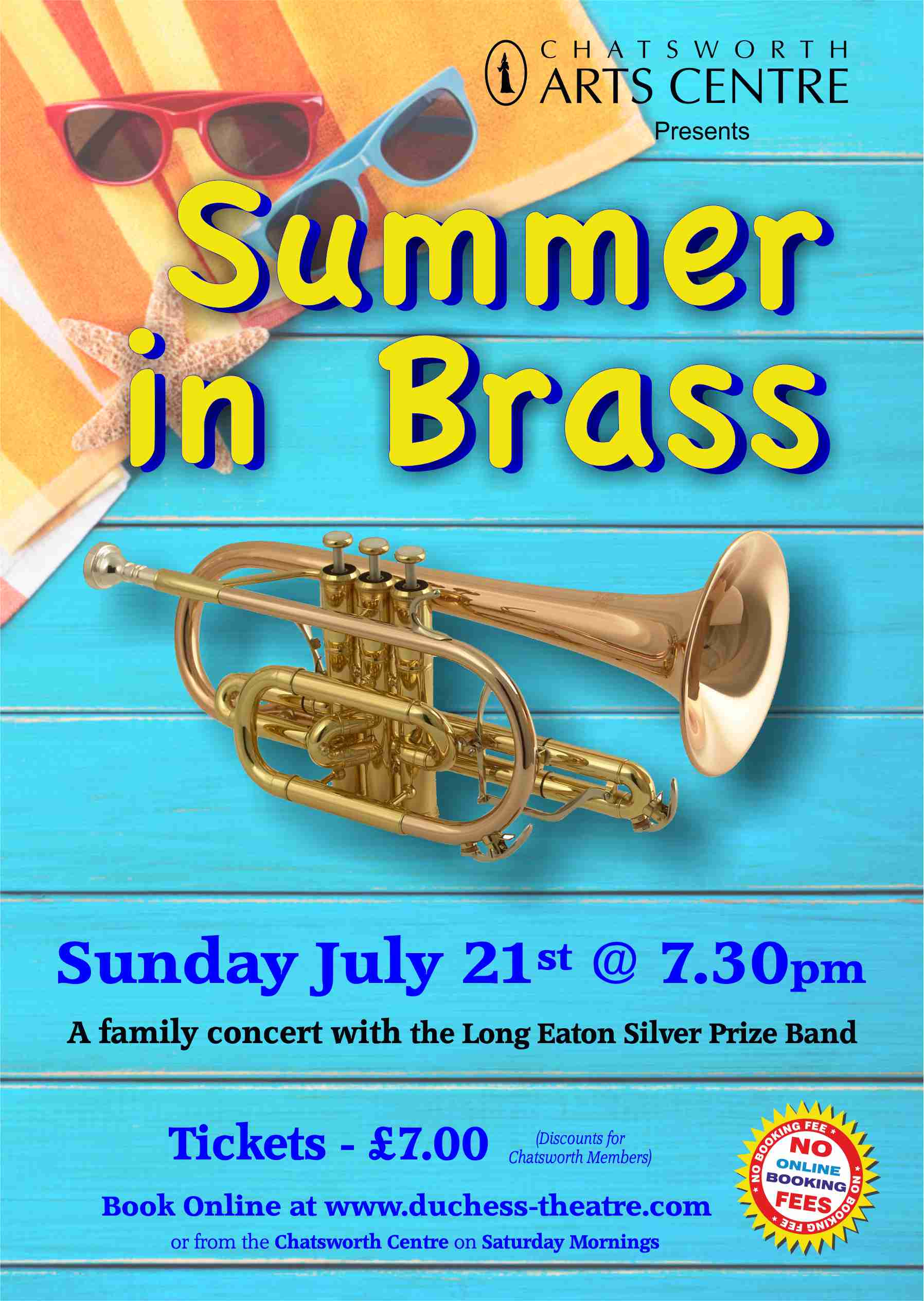 SUMMER IN BRASS 2019 Charity Concert - Silver Prize Band banner image