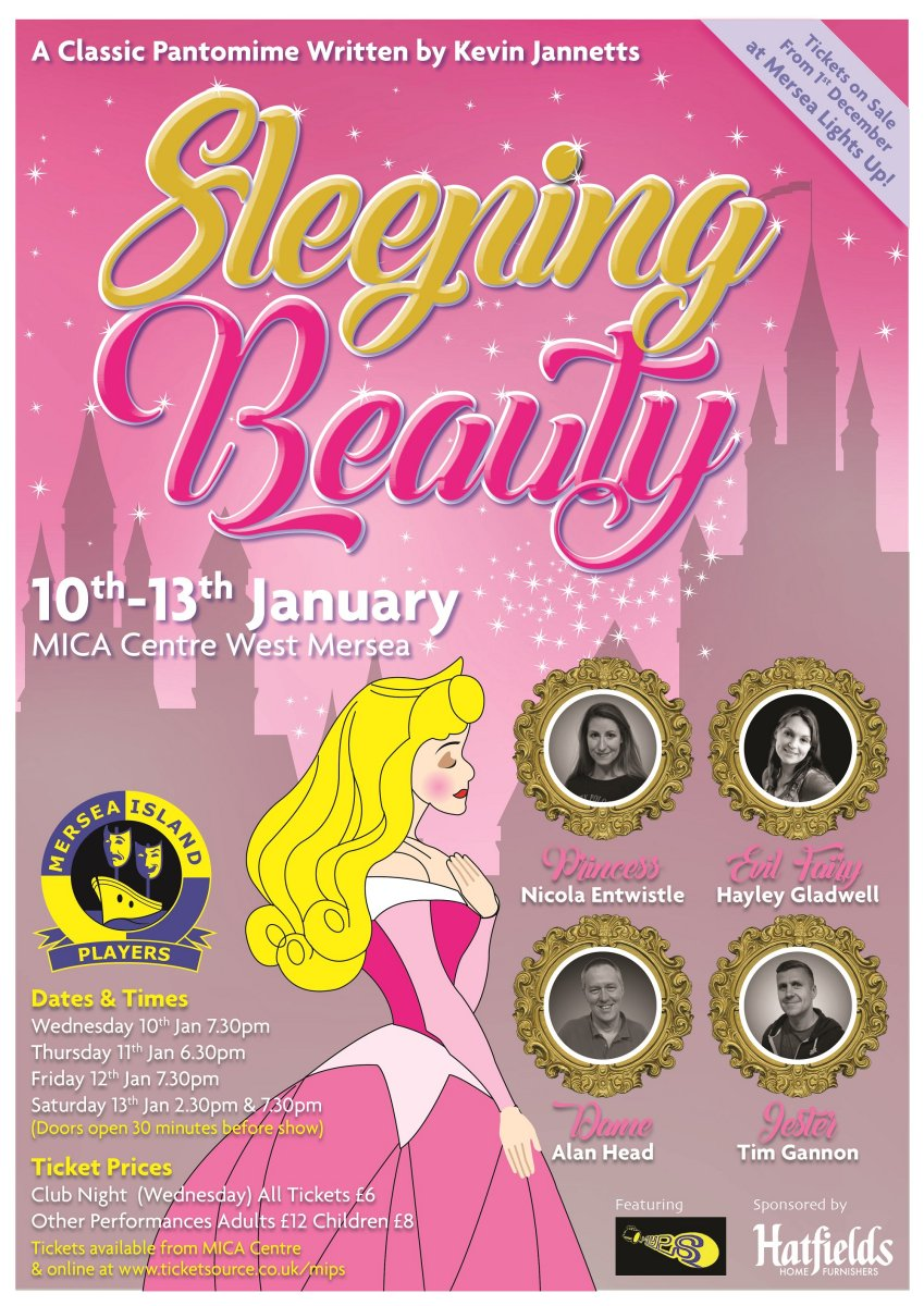 Sleeping Beauty Pantomime (MIPs) at The Mersea Centre (MICA) event