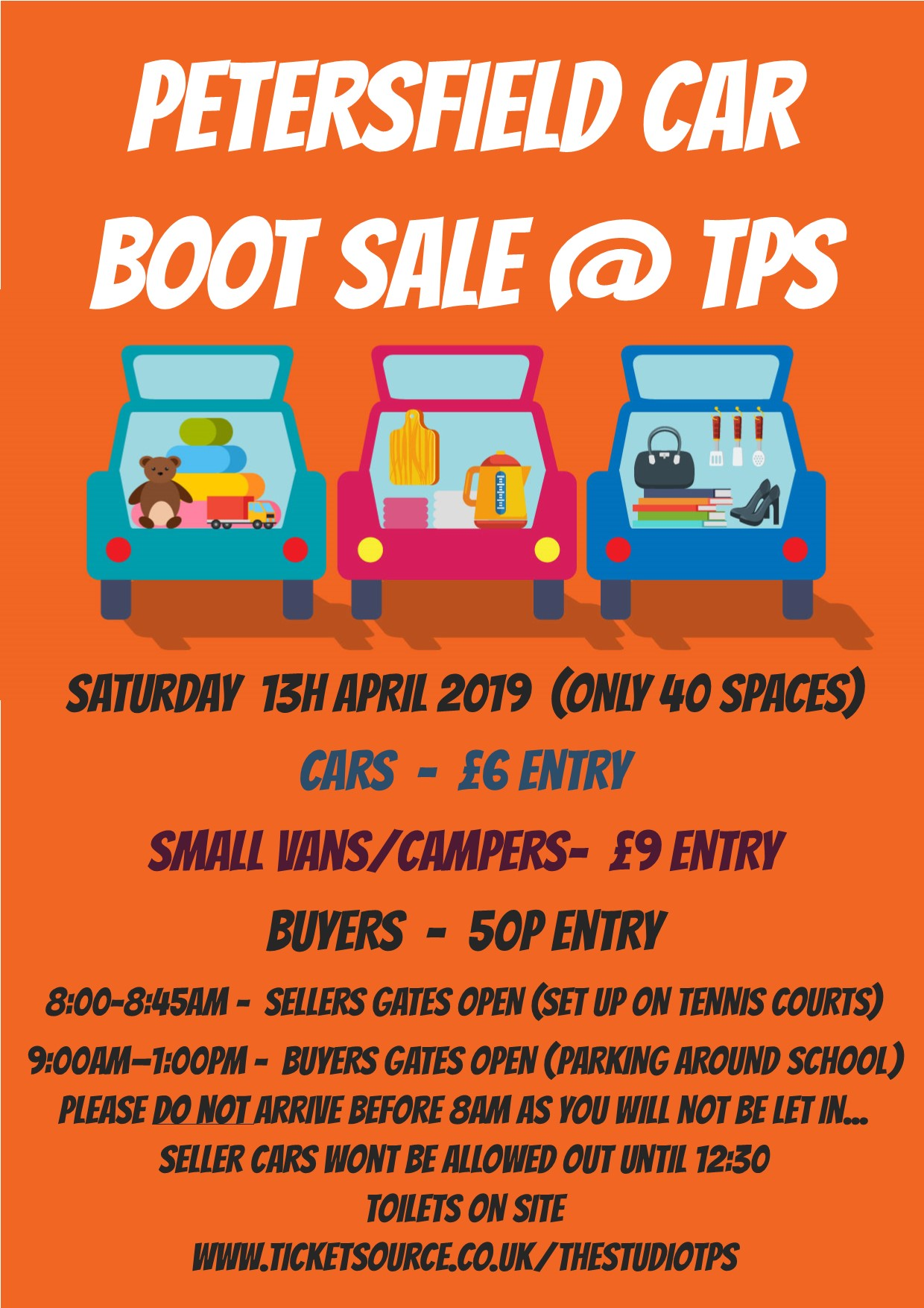 Petersfield Car Boot Sale Tps At Tennis Courts The Petersfield
