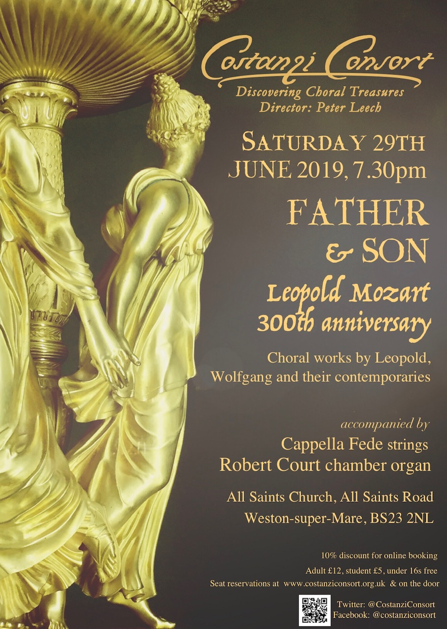 Father & Son: Leopold Mozart 300th anniversary banner image