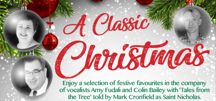 A Classic Christmas with Amy Fudali, Colin Bailey and Mark Cronfield banner image