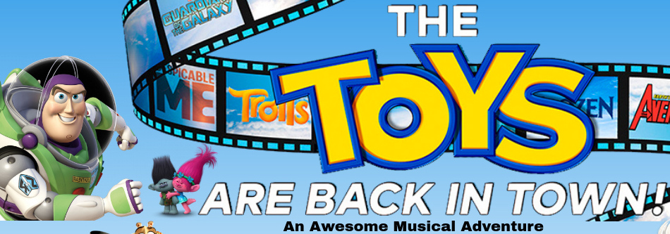 The TOYS are back in Town! banner image