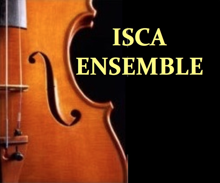 Isca Ensemble Christmas Orchestral Concert 21 Dec 2019 with JOEL MUNDAY - violin banner image