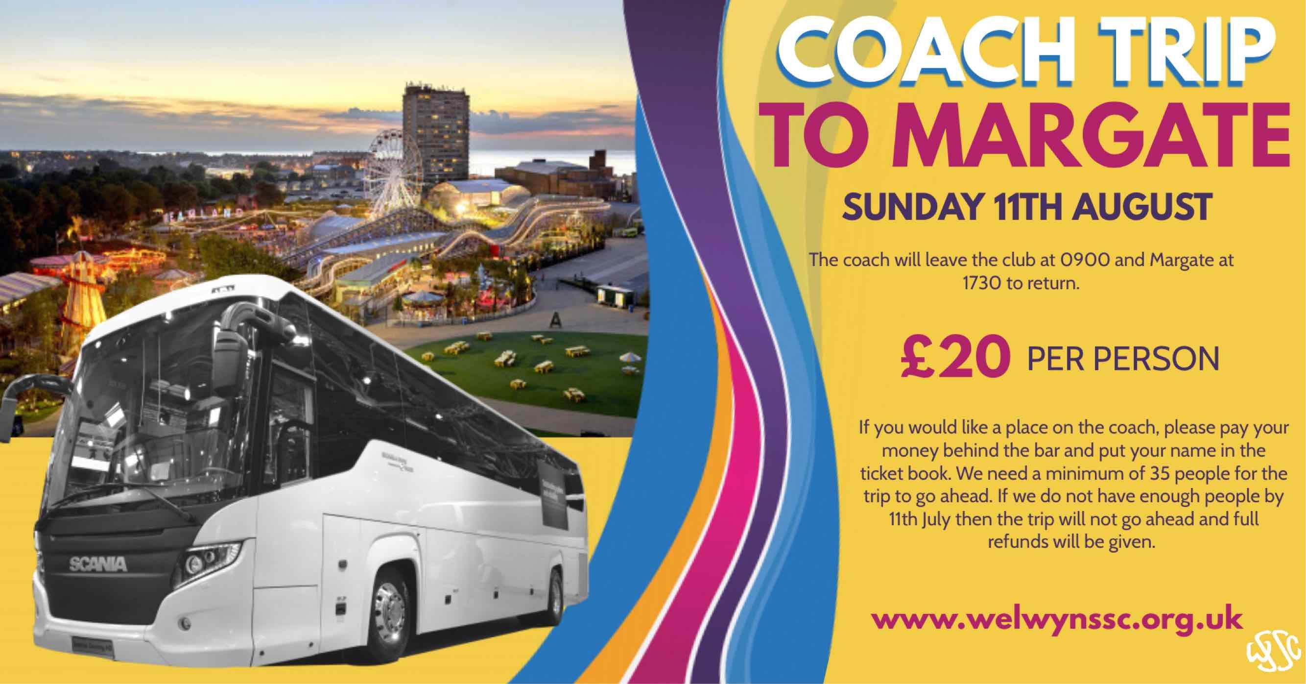 Coach Trip - Margate banner image