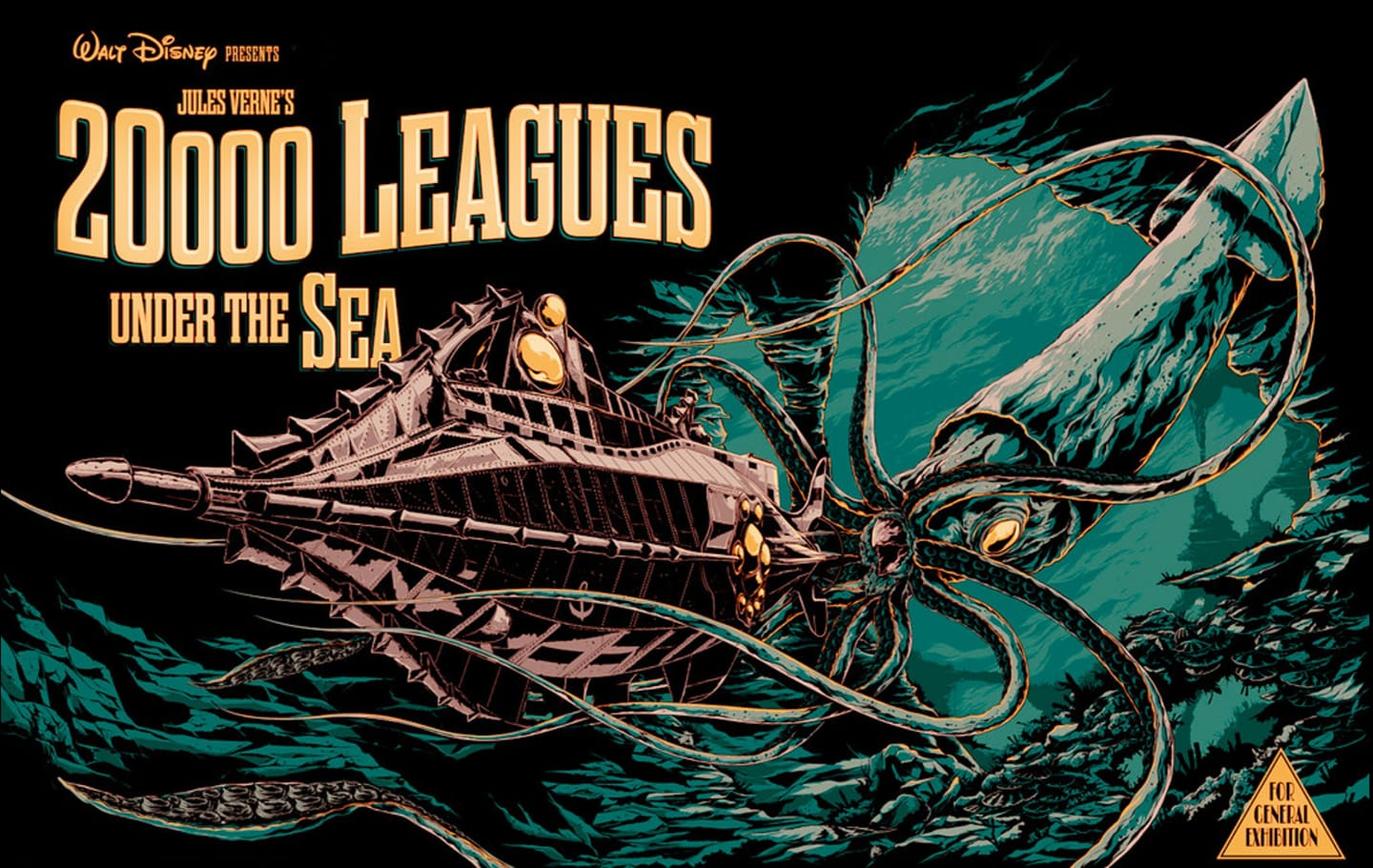 20000 Leagues Under the Sea (1954) banner image