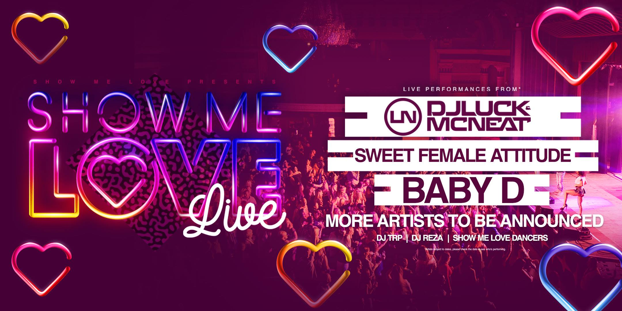 Brentwood Live - Show Me Love LIVE banner image