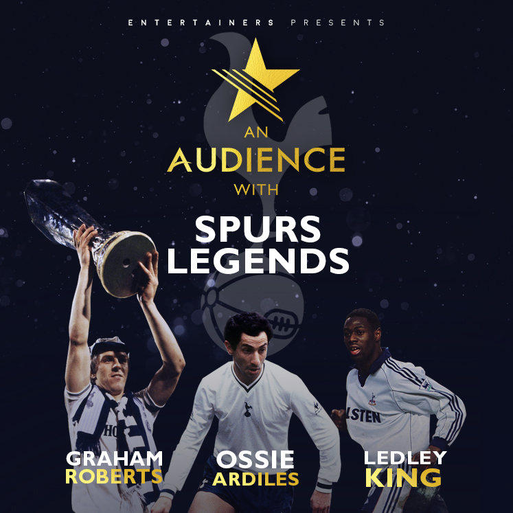 Brentwood Live - An Audience With : Spurs Legends banner image