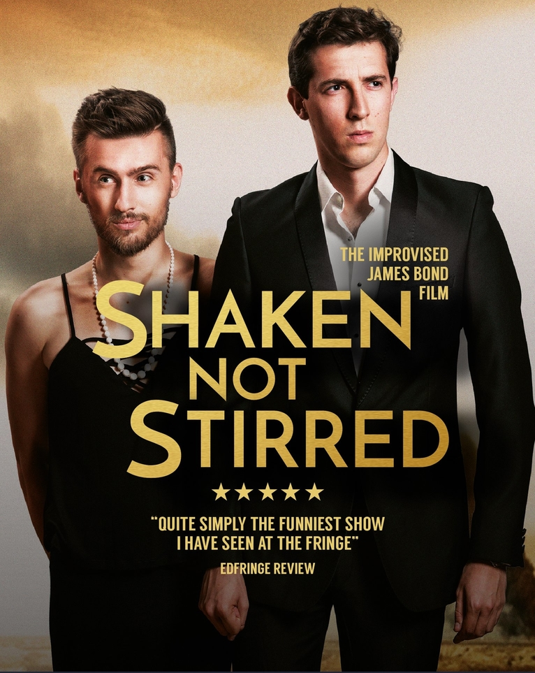 Shaken Not Stirred: The Improvised James Bond Film banner image