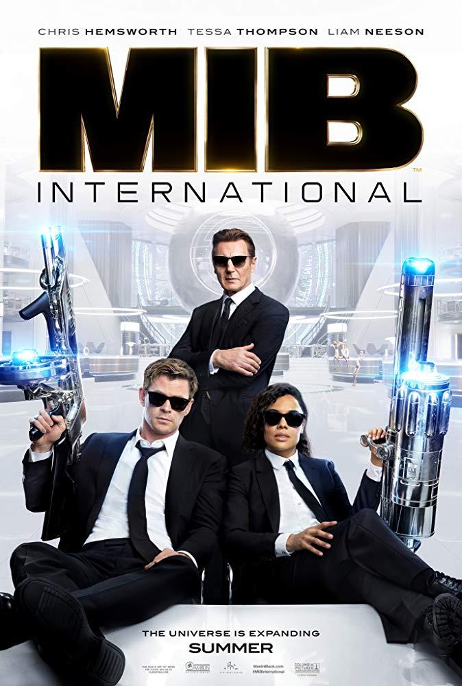 Men In Black: International (12A) banner image