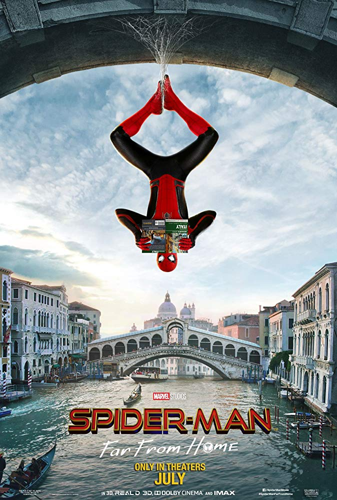 Spider-Man: Far From Home (12A) banner image