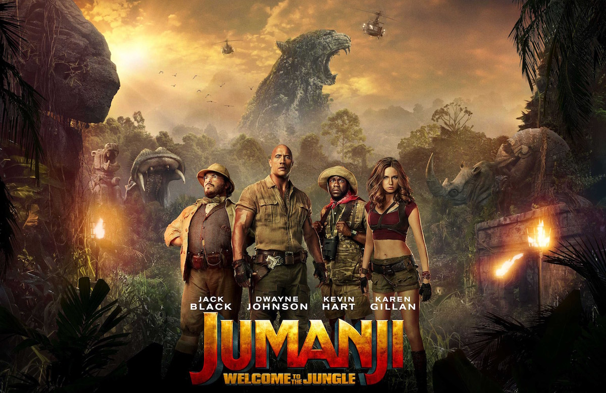 Jumanji Welcome To The Jungle 2017 At Penarth Pier Pavilion Cinema Event Tickets From Ticketsource