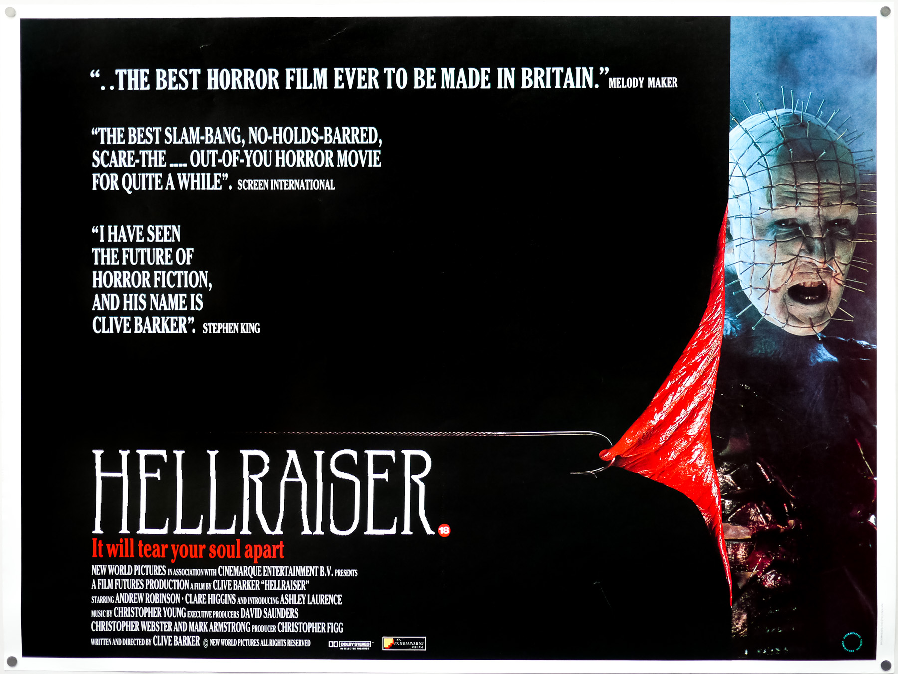 Hellraiser (1987) at Penarth Pier Pavilion - Cinema event tickets ...