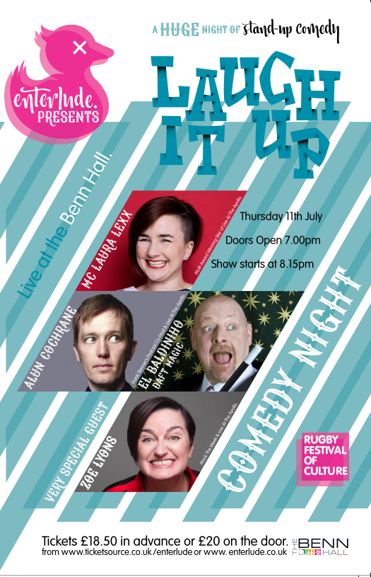 Laugh It Up - Comedy Night banner image