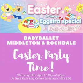 Babyballet middleton rochdale easter extravaganza party at kidz babyballet middleton rochdale easter extravaganza party at kidz klub play centre negle Images