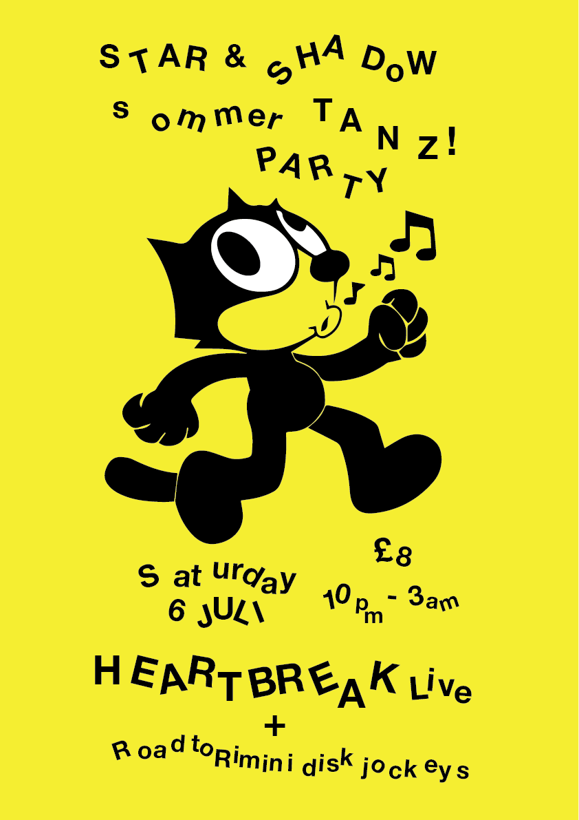 Star & Shadow Summer Party! with Heartbreak LIVE banner image