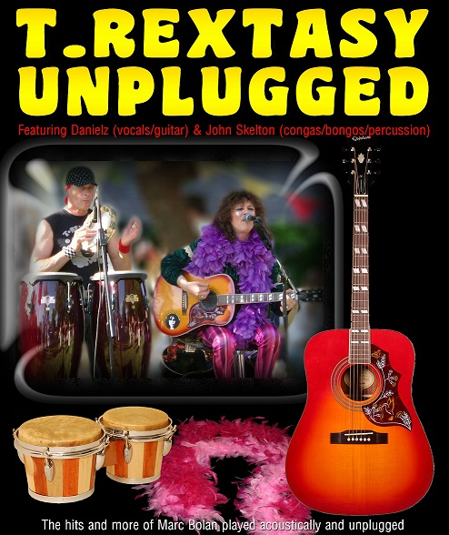 T-Rextasy Unplugged banner image