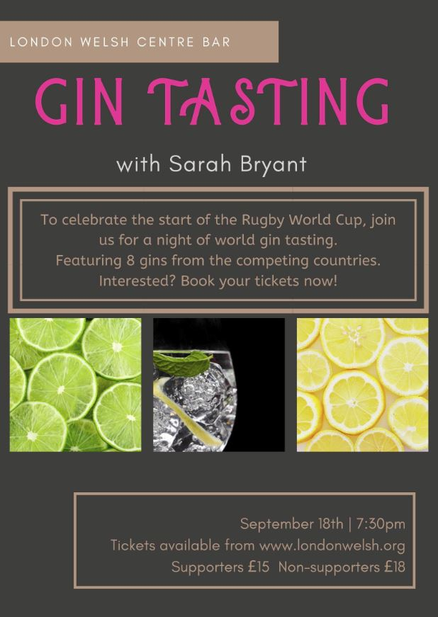 Gin Tasting World Cup Edition banner image