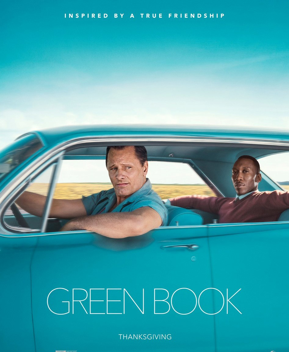 Green Book banner image