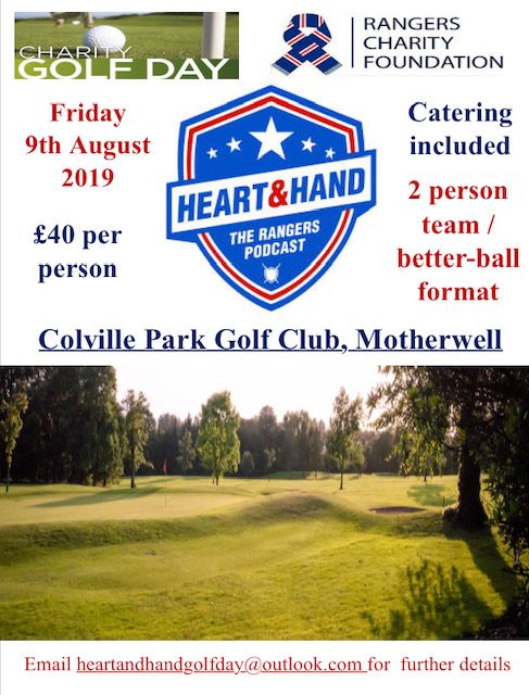 Heart and Hand Charity Golf Day banner image
