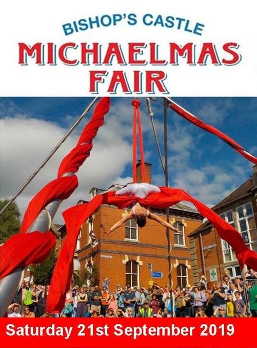 Bishop's Castle Michaelmas Fair banner image