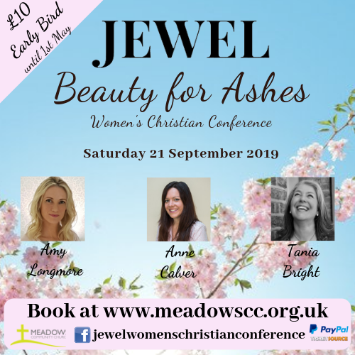 JEWEL 2019 - Beauty for Ashes Women's Christian Conference banner image
