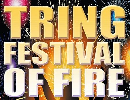 Tring Festival of Fire 2019 banner image