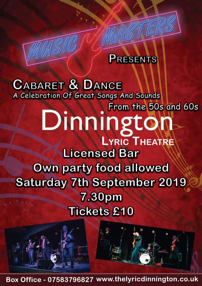 Music Masters Presents - Cabaret and Dance banner image