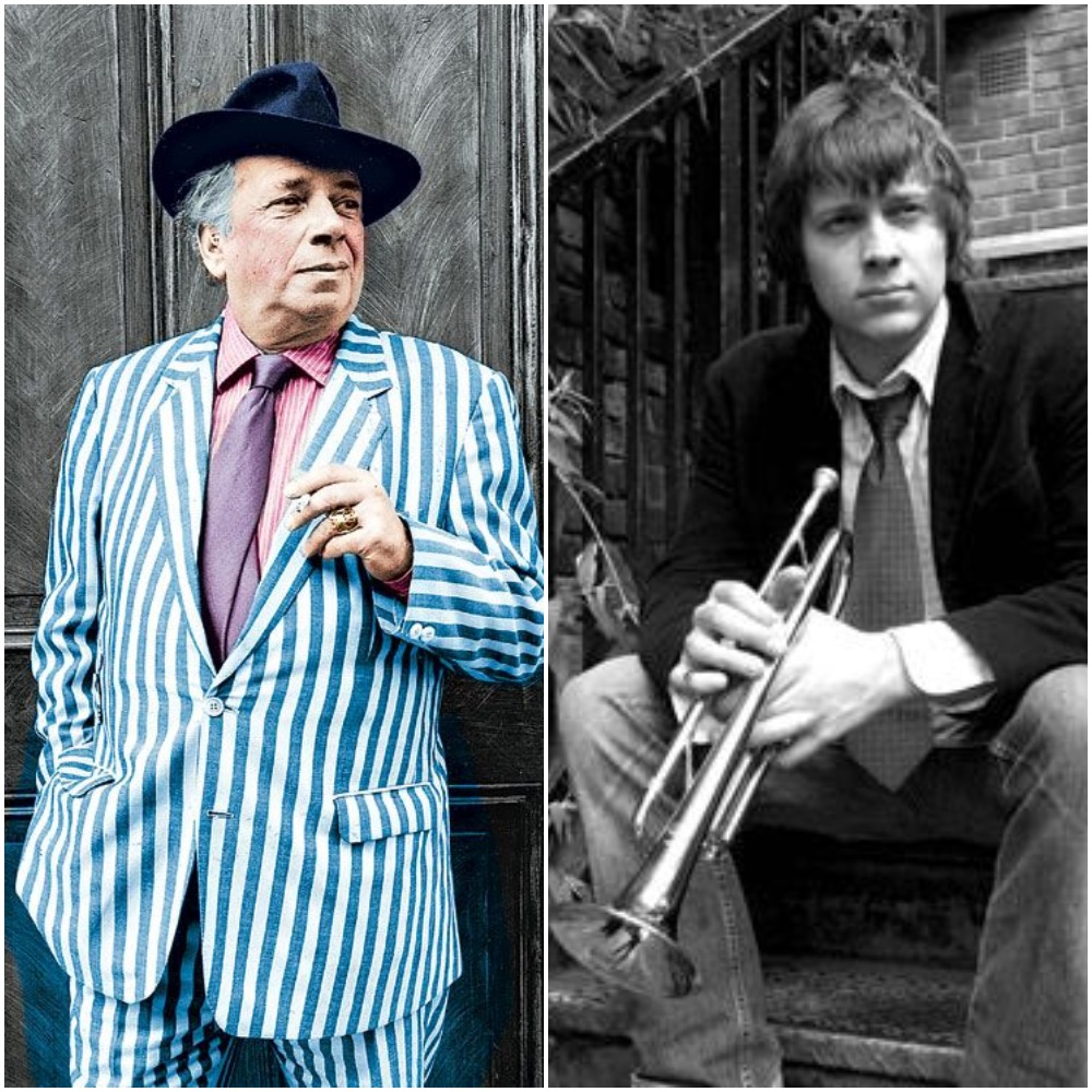 Jazz documentary films - Richard Turner and George Melly banner image