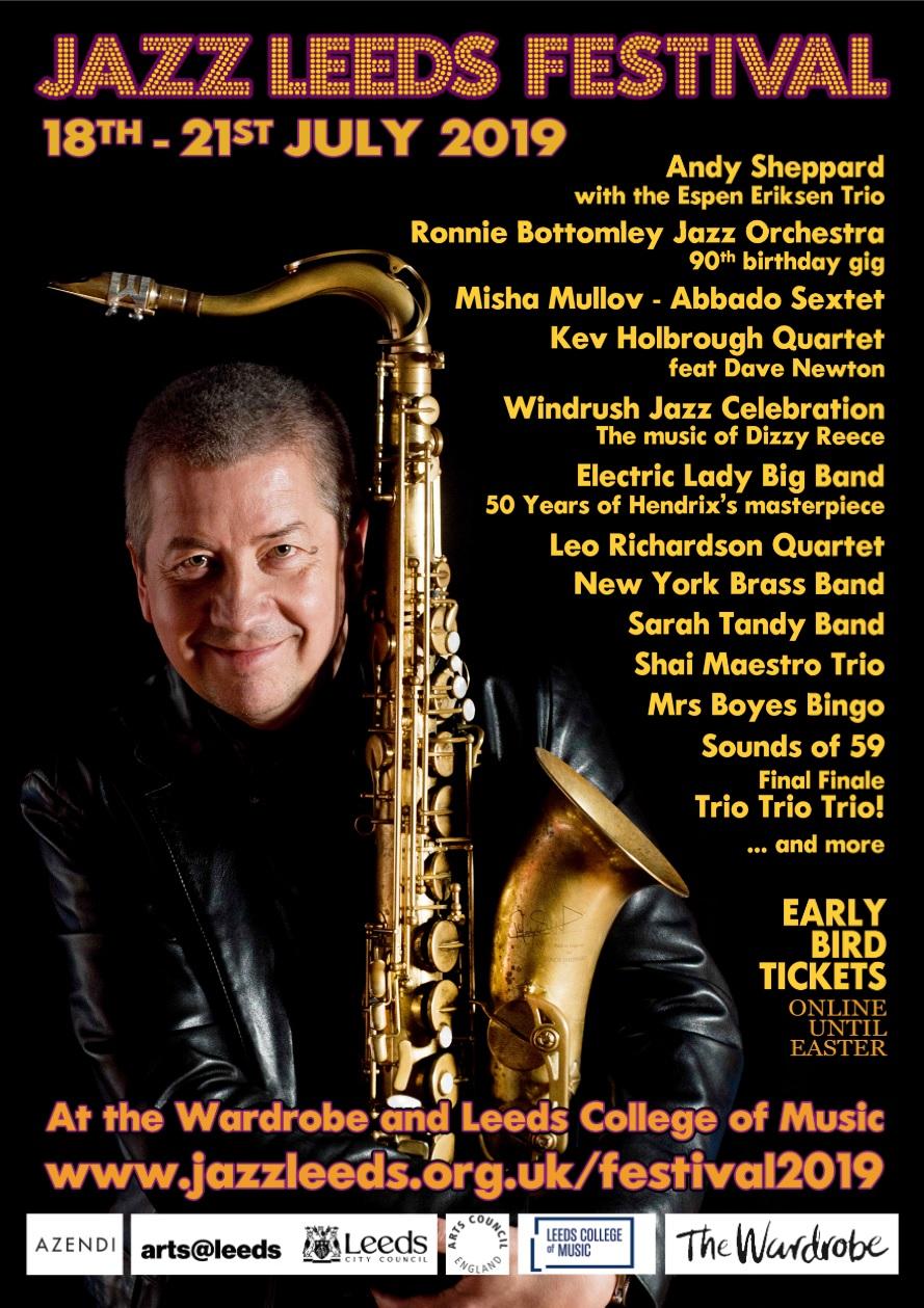 Jazz Festival Stroller Ticket banner image