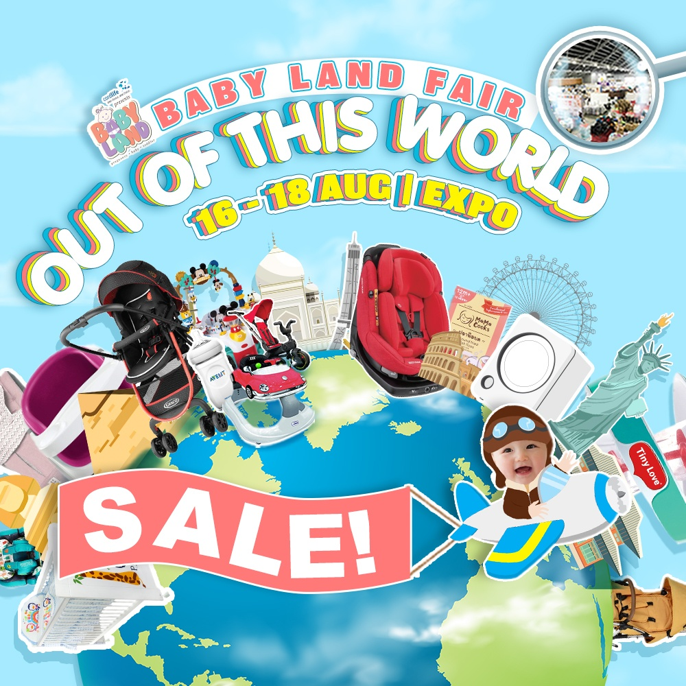 Baby Fair August 2019 - Baby Land Fair 16 to 18 Aug 2019 at Expo banner image