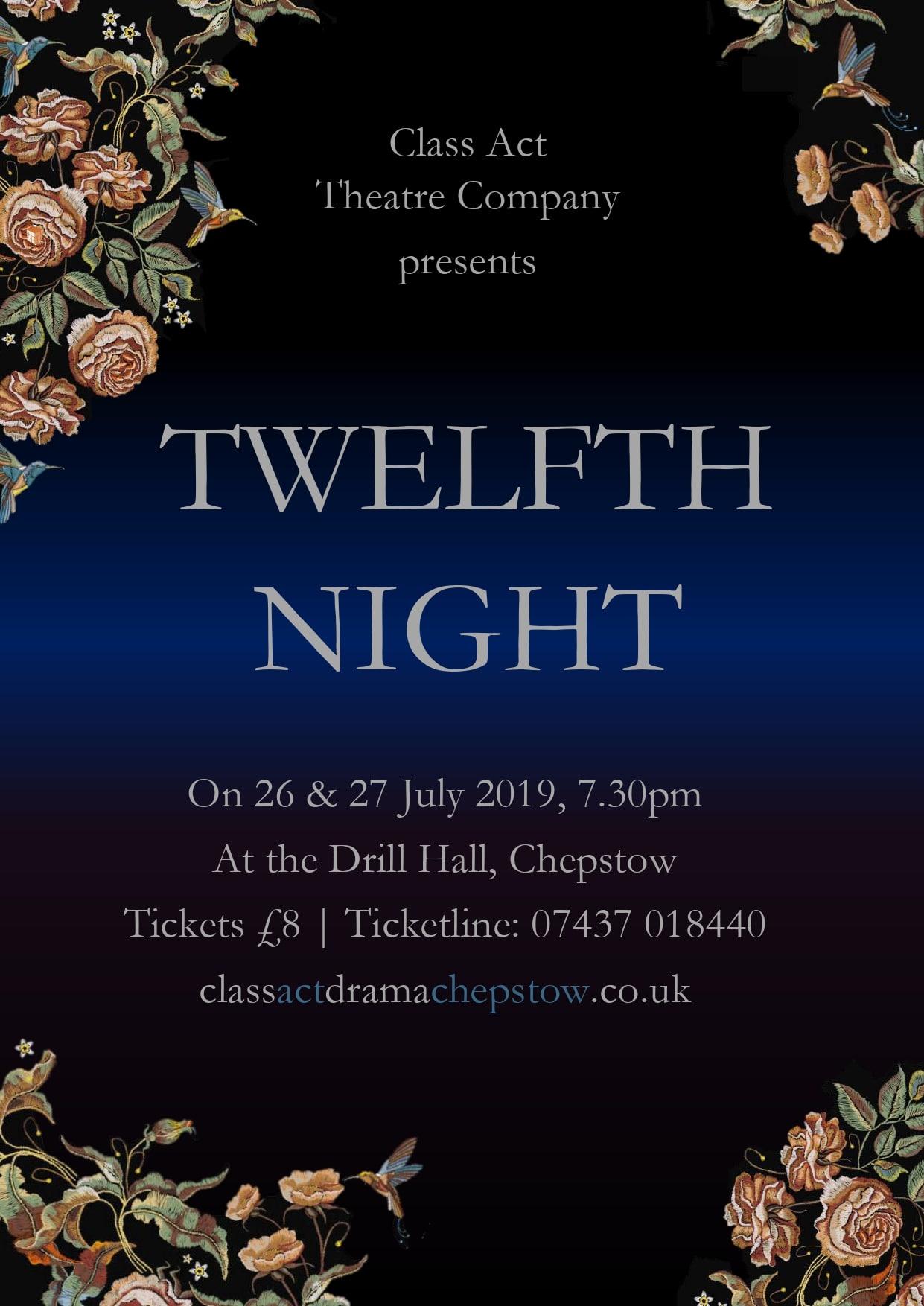 Twelfth Night banner image