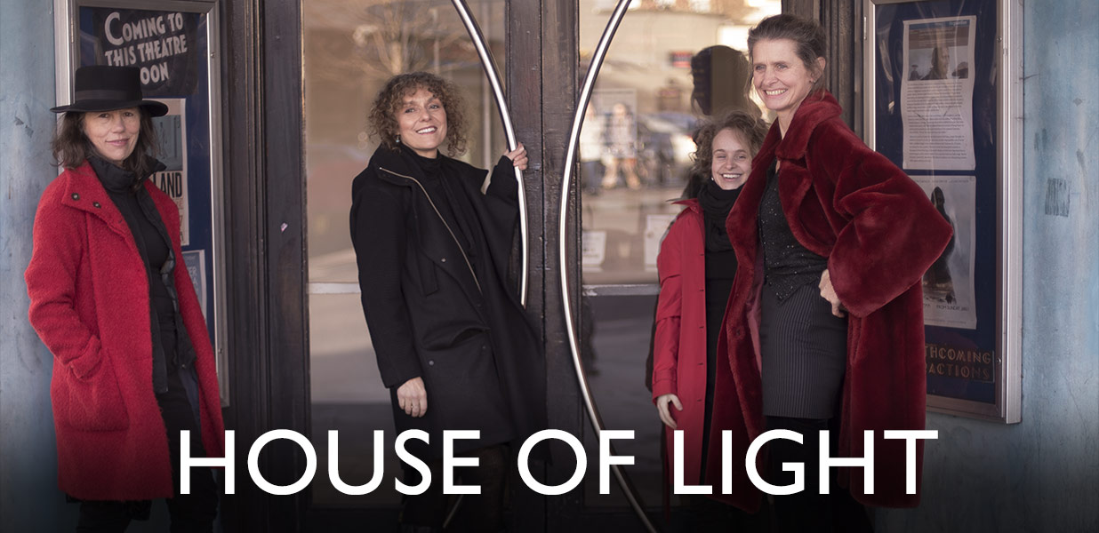 HOUSE OF LIGHT in FROME 8pm Helen Chadwick Song Theatre and Jane Harris  + 5 - 6.30 SINGING WORKSHOP banner image