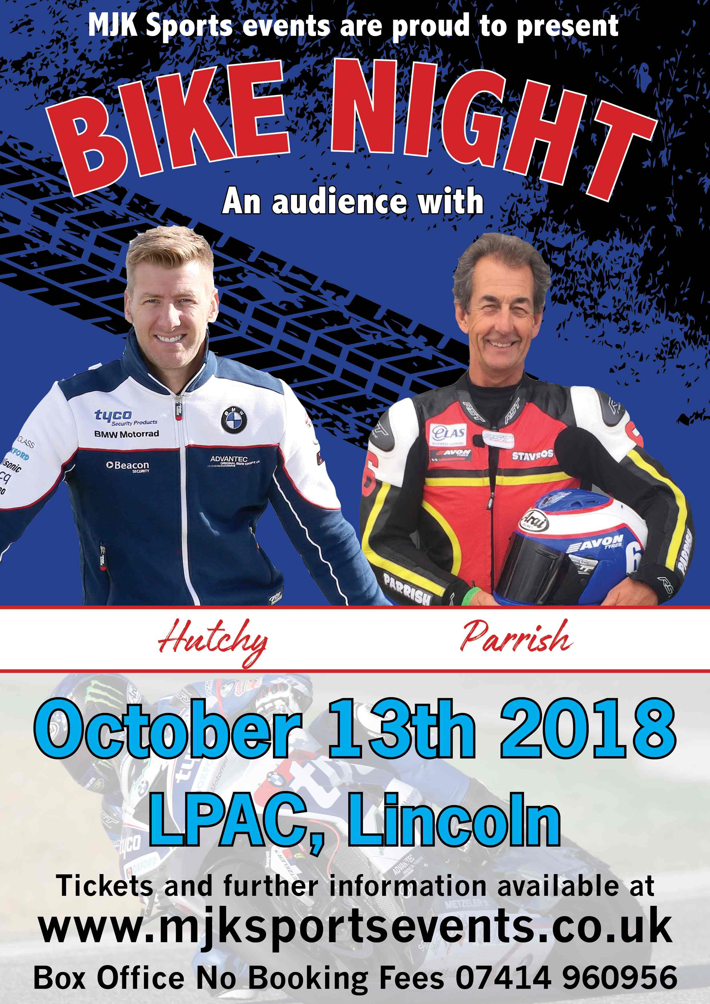 Bike Night With Hutchy And Steve Parrish At Lincoln Performing Arts