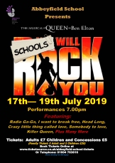 We Will Rock You School Edition banner image