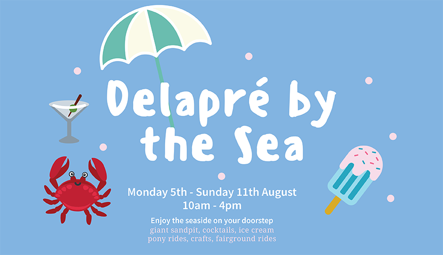 Delapre by the Sea entry banner image