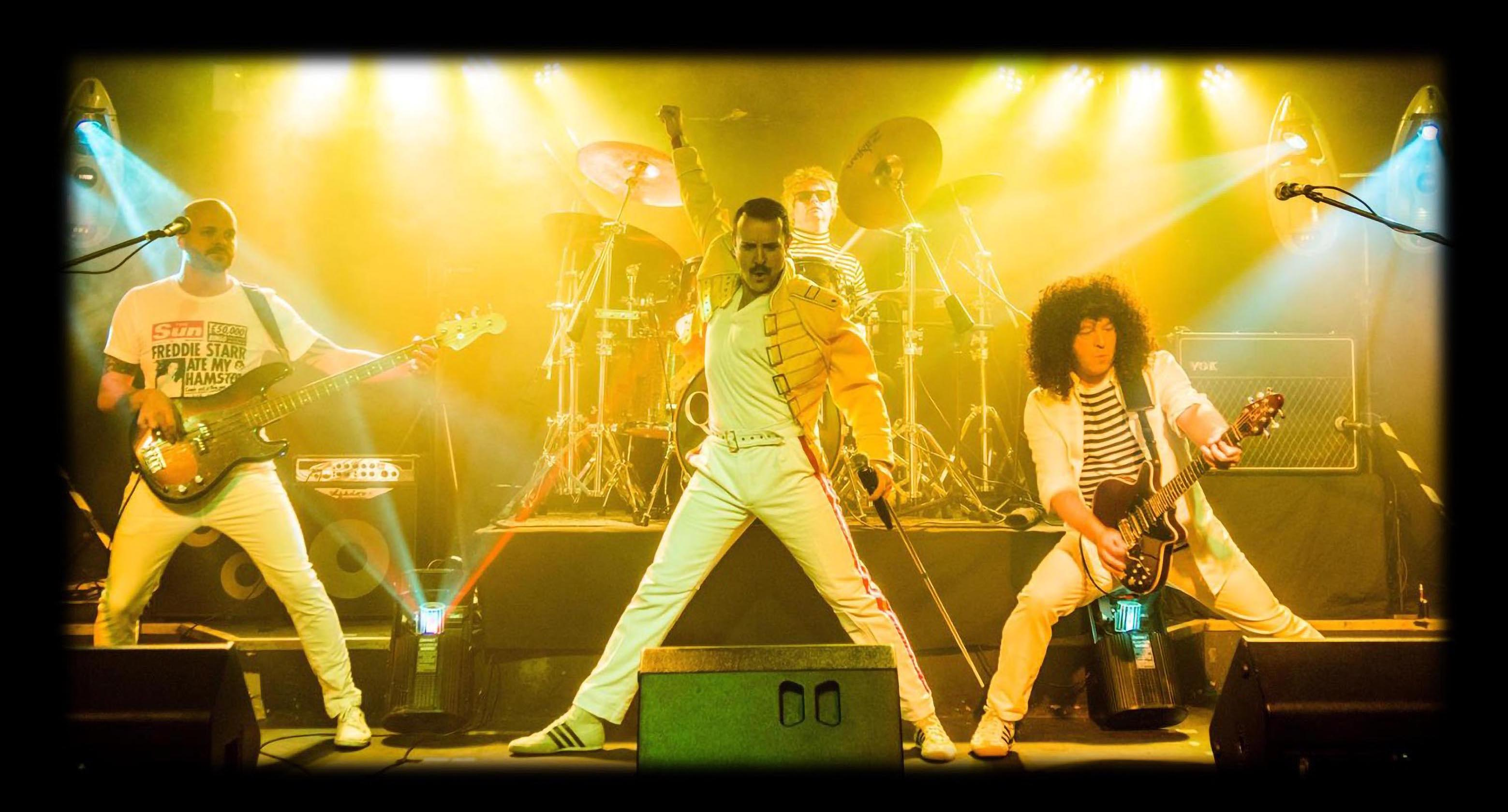 Freddie Mercury Tribute Night Darlaston banner image