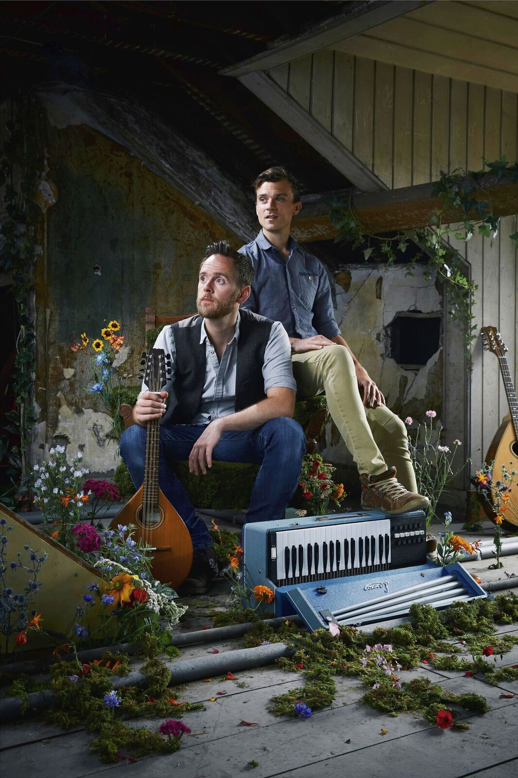 Ninebarrow folk duo with support from Will McNicol banner image