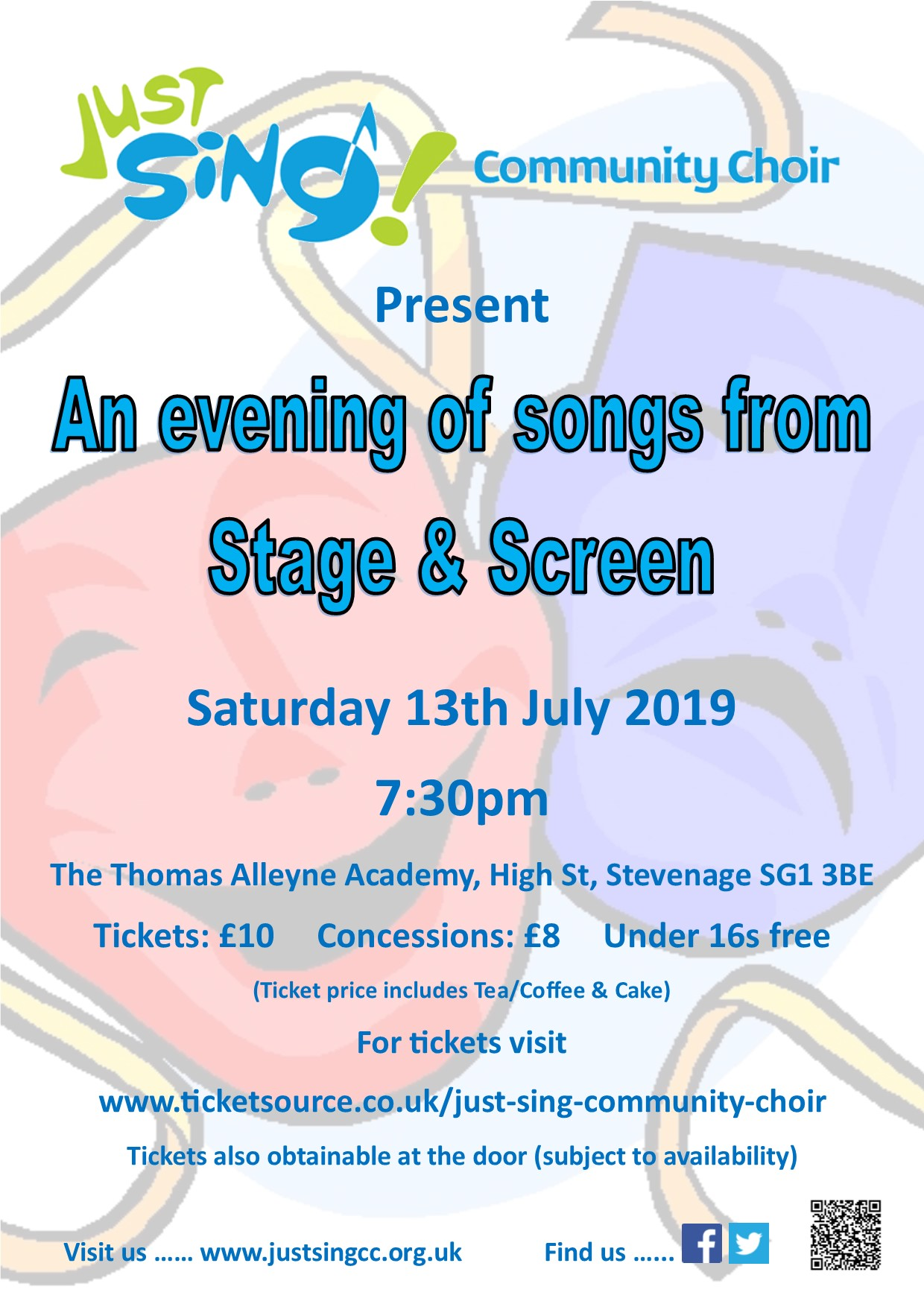 An Evening of Songs from Stage & Screen banner image