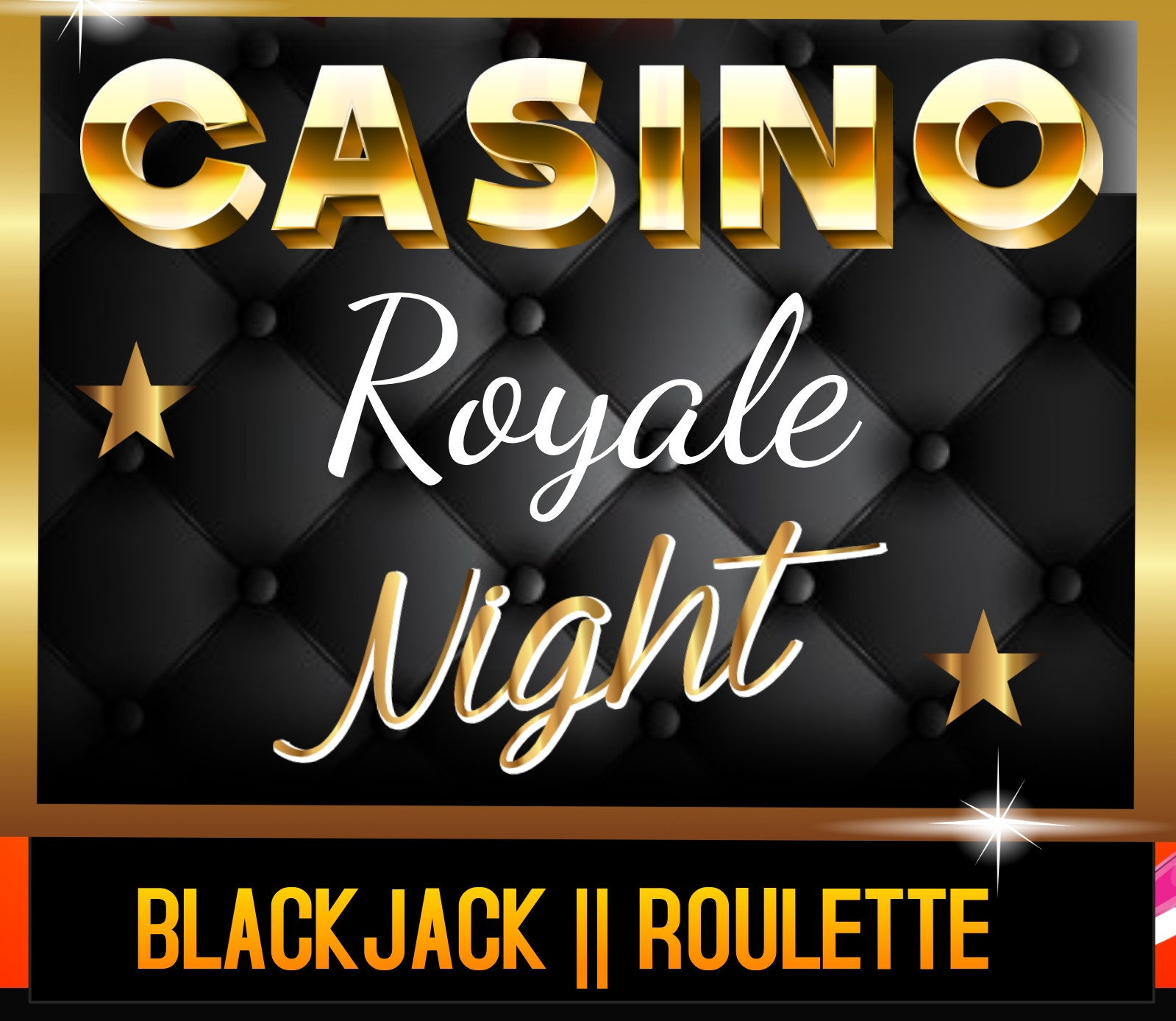 Casino Royale James Bond Night banner image
