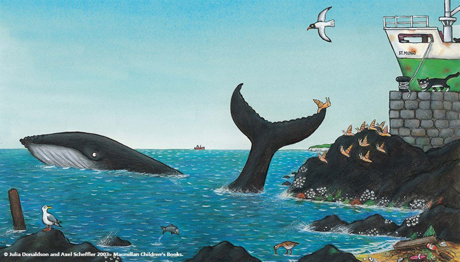 Imagine Me! The Snail and the Whale banner image