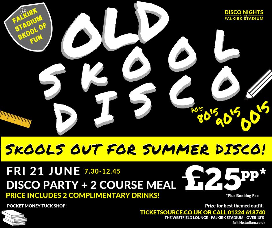 Old Skool Disco banner image