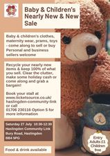 Baby & Children's Nearly new and New Sale banner image