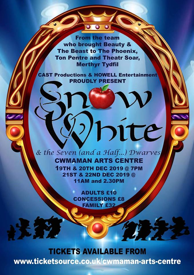 Snow White and the Seven (and a half) Dwarves - Cast Performance Academy banner image