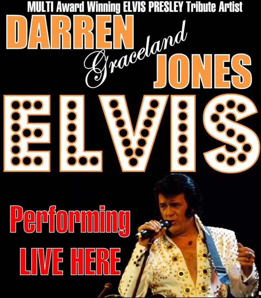 Darren Graceland Jones as Elvis banner image