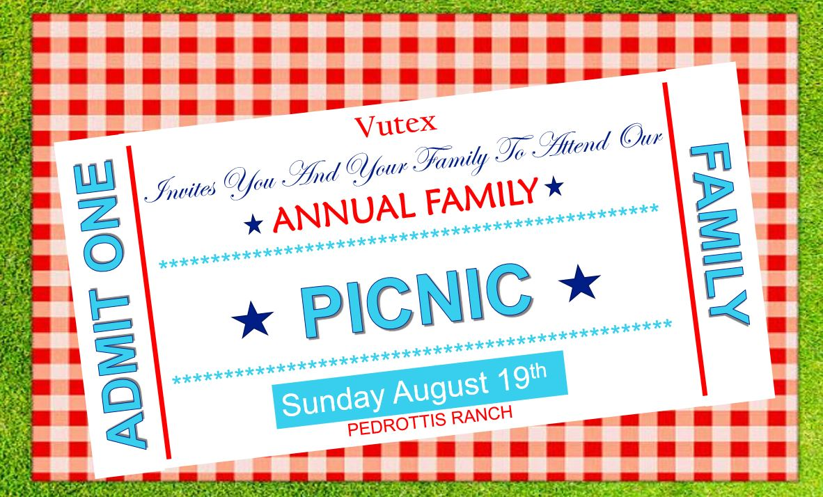 2018 Vutex Family Picnic At Pedrotti S North Wind Ranch Event