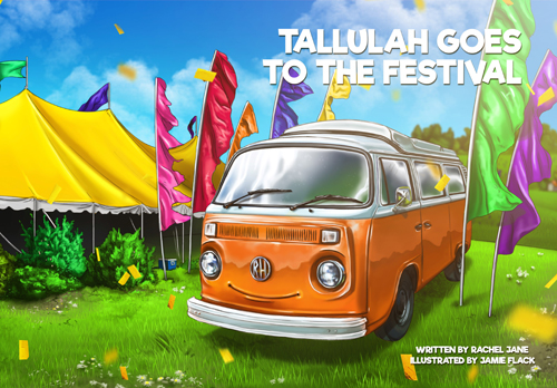 Tallulah goes to the Festival with Rachel Jane banner image
