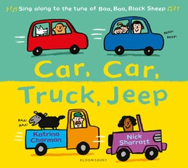 Car, Car, Truck, Jeep with Katrina Charman banner image
