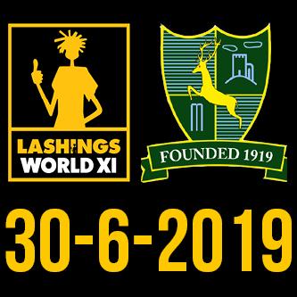Newtown Linford CC vs The Lashings World XI banner image